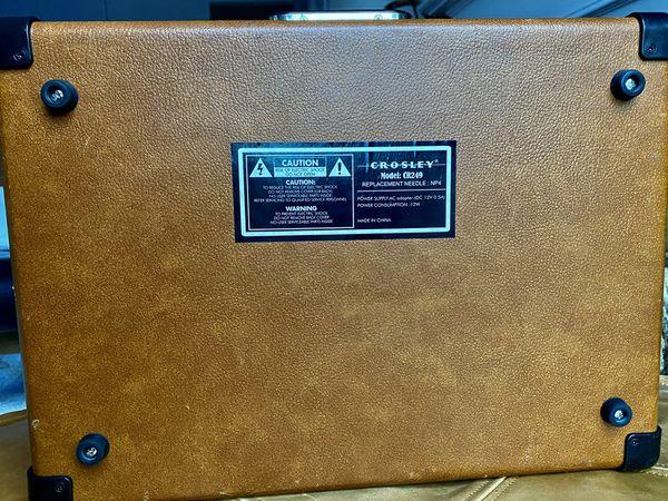 Crosley Portable USB Turntable CR249