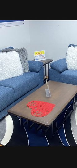 BLUE SOFA AND LOVESEAT ! DELIVERY TODAY! NO CREDIT NEEDED FINANCING! for Sale in Brandon,  FL