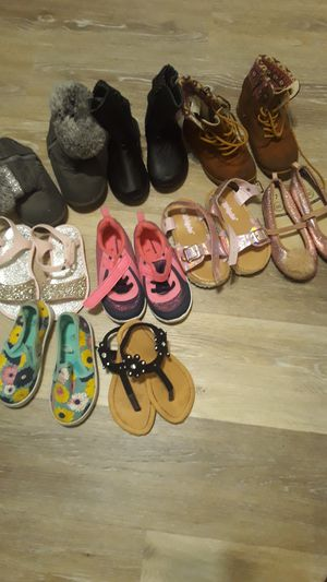 Little girls boots, Flats , sandals for Sale in Des Moines, IA