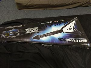 """PS2/PS3 Flying """"V"""" ANTCOMMANDOS Guitar Hero Wireless controller in Black or Red for Sale in North Smithfield, RI"""