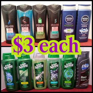 Men's bodywash for Sale in Los Angeles, CA