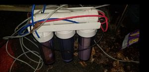 --- 100gpd Reverse Osmosis ro/di system with tubing for dirty water out --- for Sale in Fairfax, VA