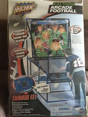Electronic Arcade football for Sale in Montvale, VA