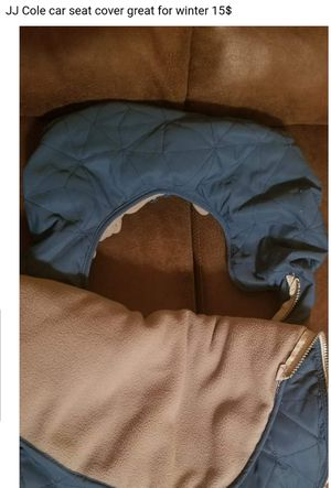 JJ cole car seat cover for Sale in Pittsburgh, PA
