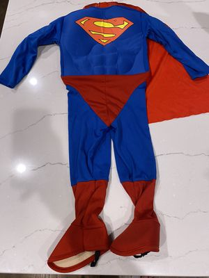 Superman Halloween costume toddler size for Sale in Simpsonville, SC