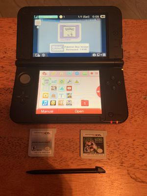 Nintendo 3DS XL w/ Games for Sale in Bakersfield, CA