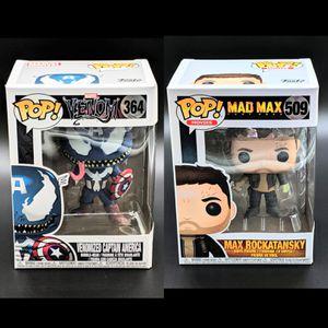Venom Venomized Captain America & Mad Max Combo for Sale in San Jose, CA
