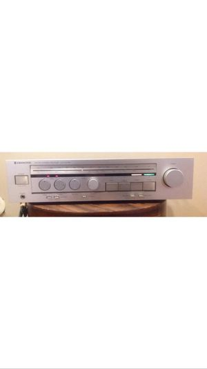 KENWOOD KR-55 VINTAGE RARE AM-FM STEREO RECEIVER SOUNDS AWESOME DEOXED!!! for Sale in Lawrenceville, GA