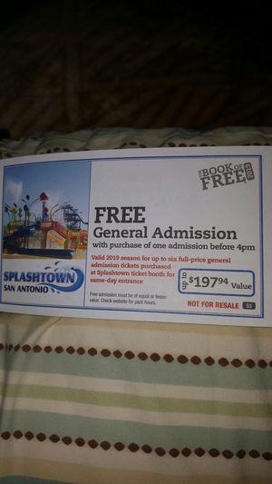Splashtown for Sale in San Antonio, TX