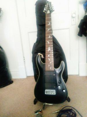 Schecter Guitar Damien Platinum 8-String Electric GuitarSatin Black for Sale in St. Louis, MO