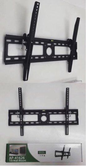 New in box universal 32 to 65 inch tilt tilting tv television wall mount bracket flat screen plasma 88lbs capacity soporte de tv for Sale in Covina, CA
