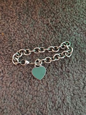 Tiffany and Co Turquoise Heart Bracelet Pre-owned for Sale in Henderson, NV