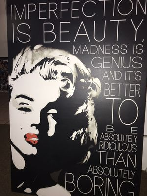 Marilyn Monroe picture frame for Sale in Adelanto, CA