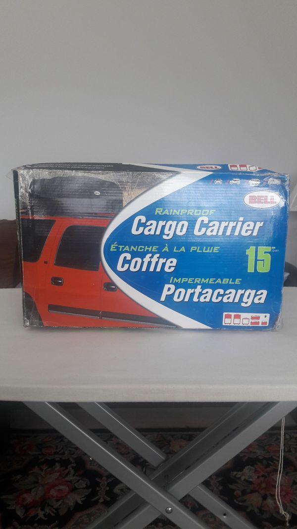 Bell waterproof cargo carrier