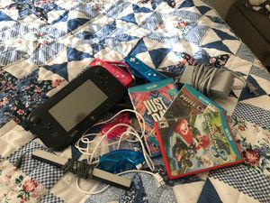 Nintendo Wii U Black! 3 Games! 2 Controllers! 2 Joysticks! for Sale in Turlock, CA