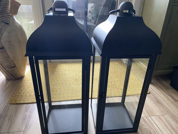 Lantern/Candle Holders (2 each)