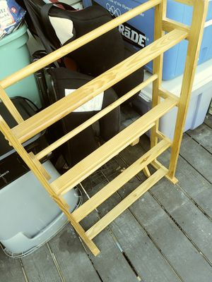 Wooden DVD s or video game stand $20.00 or best offer for Sale in Henrico, VA