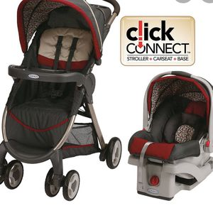 Used Infant Car Seat And Stroller for Sale in Lewis Center, OH
