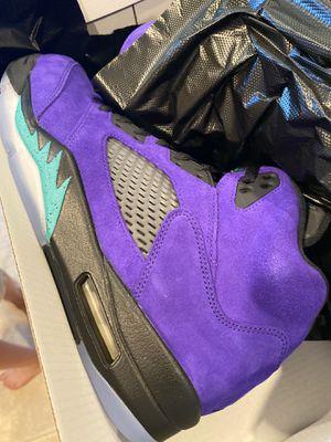 Grape purple Jordan Nike Air 5 5s size 11 for Sale in Tigard, OR