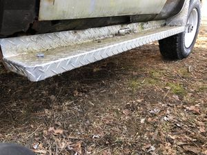 DEE ZEE Diamond plate running boards from square body Chevy for Sale in PA, US