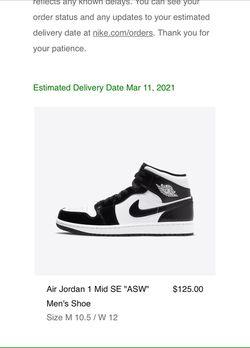 Jordan 1 mid asw for Sale in Sandy,  OR
