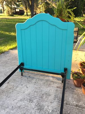 Twin Headboard and frame for Sale in Dade City, FL