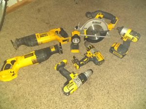 DeWalt power tools. _good condition for Sale in Derby, KS