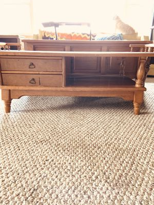 Coffee Table & 2 End Tables Vintage 1970's Era for Sale in Stockton, CA