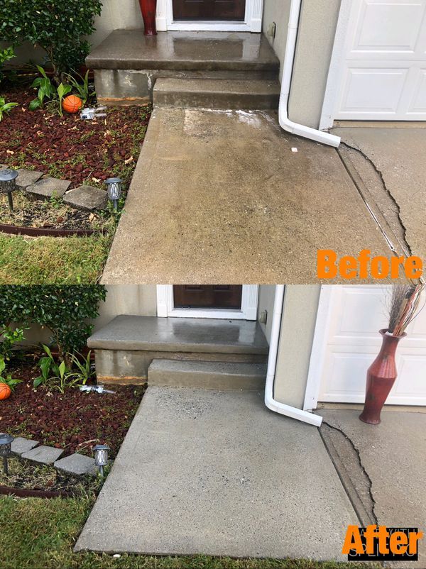 House Wash & Driveway Cleaning