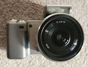 Sony Nex Camera with lens for Sale in Scarsdale, NY