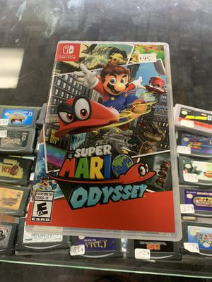 Super Mario oddysey $45 Gamehogs 11am-7pm for Sale in East Los Angeles, CA