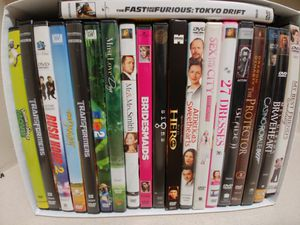20 DVD Used - Very Good Quality, for Sale in UNIVERSITY PA, MD