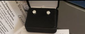 Solitaire Diamond Earrings 2cts TW for Sale in Chicago, IL