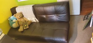 Costco leather futon for Sale in Palmdale, CA