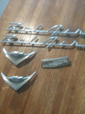 ORIGINAL 1955 BELAIR PIECES (WITH SERIAL NUMBERS TO PROVE ITS AUTHENTICITY) for Sale in Conroe, TX