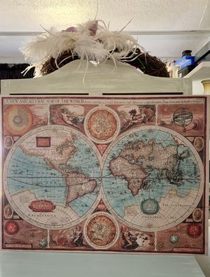 A new Accvrat Map of the world for Sale in Mascot, TN