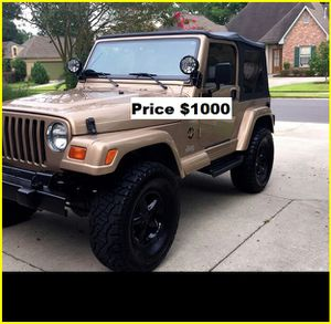 ֆ1OOO Jeep Wrangler for Sale in West Covina, CA