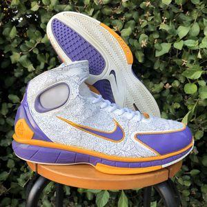 Nike Air Huarache 2K4 KOBE BRYANT Laser LAKERS Shoes 10.5 for Sale in San Diego, CA