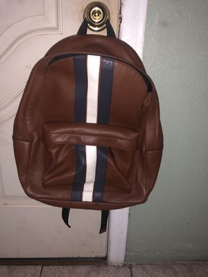 Coach Men Leather BackPack for Sale in Whittier, CA