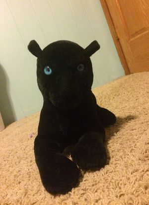 Black panther stuffed animal for Sale in Cottage Grove, MN