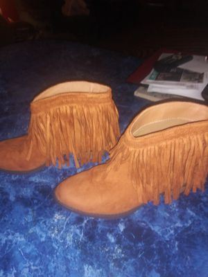 Fringe boots for Sale in Kannapolis, NC