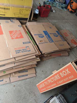 Various box sizes for Sale in Chesapeake, VA