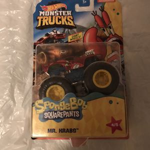 $15 mr krabs hot wheel pls read below for Sale in Los Angeles, CA