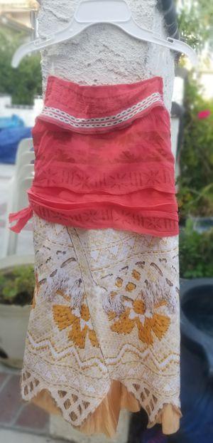 Moana Disney Custom Dress for Sale in Rialto, CA