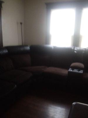Brown black living room set for Sale in Hartford, CT