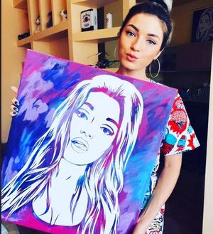 Custom Portrait Painting From Your Photo for Sale in Orlando, FL