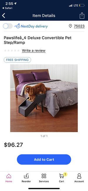 Convertible step/ramp for dogs (new) for Sale in Plano, TX