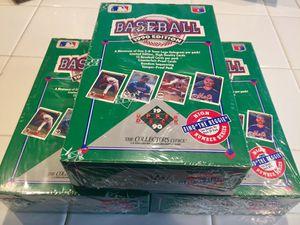 1990 Upper Deck Baseball Card Sealed Box for Sale in Riverside, CA