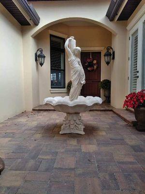 Concrete Rebecca fountain for Sale in Winter Haven, FL