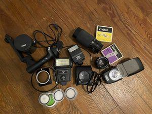 Misc. Konica camera accessories for Sale in Orlando, FL